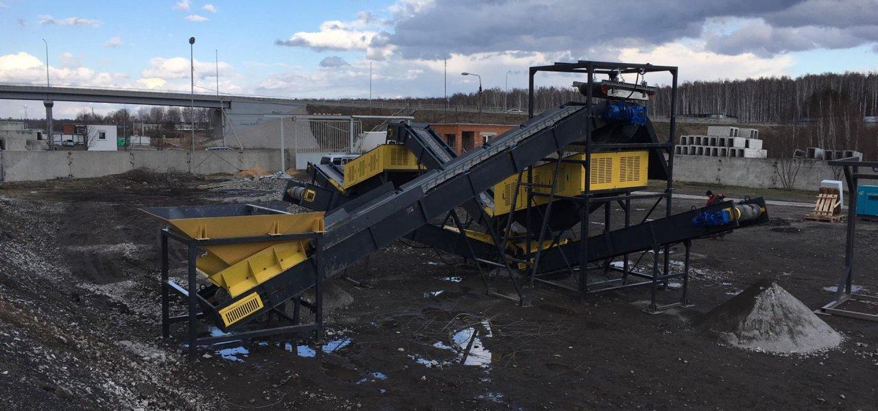 Выполнена реконструкция комплекса КС-40 по переработке железнодорожных шпал