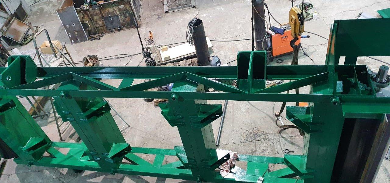 В адрес Новолипецкого Металлургического комбината отгружены два магнитных перемешивателя шихты