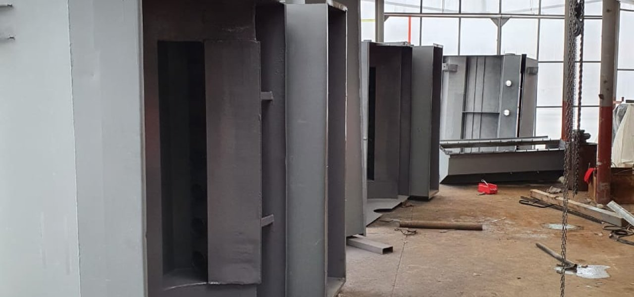 Для ОАО ВГОК выполнен ремонт шести ванн мокрых магнитных сепараторов ПБМ90/250