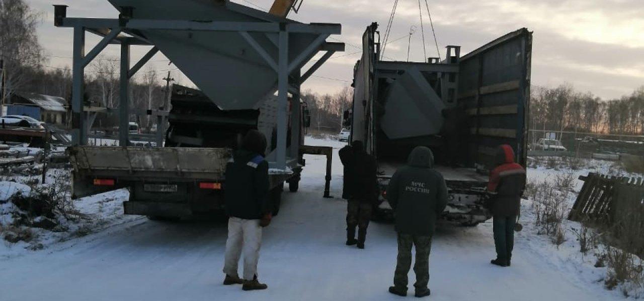 Завершена отгрузка комплекса дробления С-200 для ООО Дробсервис